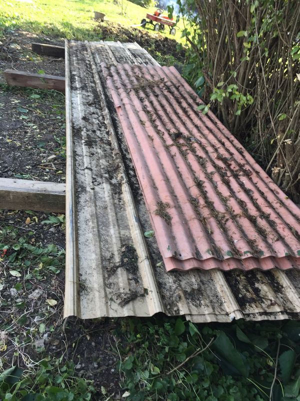 Roof 3 Metal 2x12 And 6 Plastic Sheet 2x8 For Sale In West Chicago Il Offerup