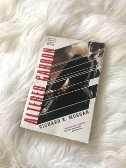 BOOK: Altered Carbon by Richard K Morgan Thumbnail