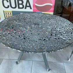 Mesa Metalica Para Terrasa - $180 Thumbnail