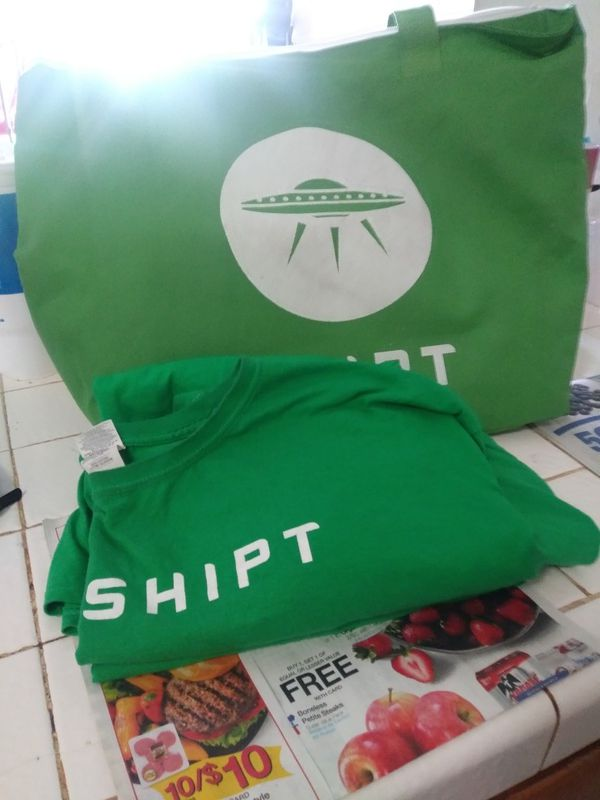 Shipt t-shirts and cooler bag for Sale in Las Vegas, NV