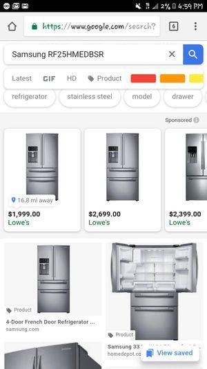 Samsung refrigerator for Sale in Crewe, VA