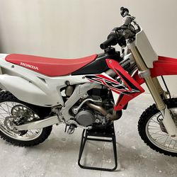 2016 Honda CRF450R Stock Dirt Bike Thumbnail