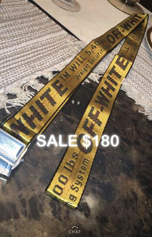 Off - White BELT for Sale in Washington, DC
