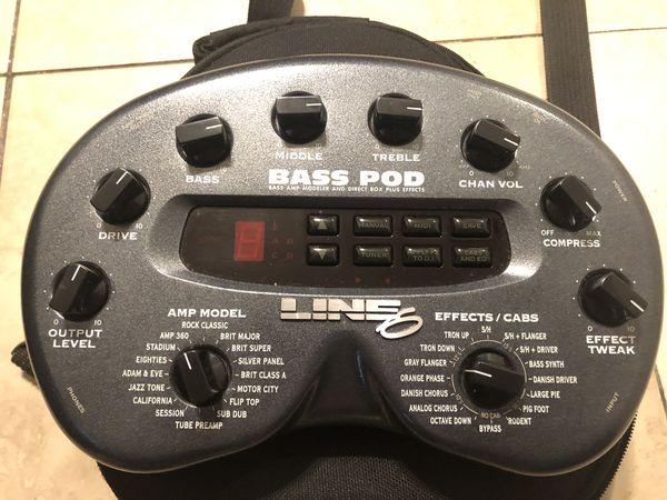 Line 6 bass pod for Sale in Murrieta, CA - OfferUp