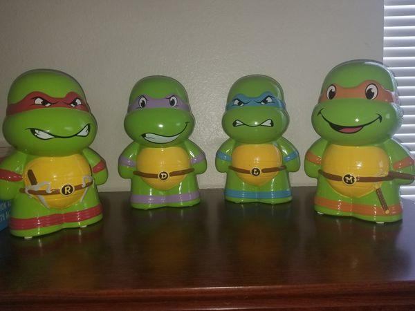 Ceramic Ninja Turtles Piggy Bank For Sale In Las Vegas Nv Offerup