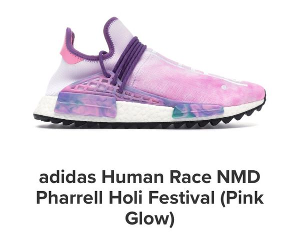 6c1cc2fe9b7d Human Festival Pharrell 5 For Pink Size Holi Nmd Sale 11 Race Adidas gqASdg