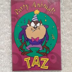 Vintage Looney tunes party animal magnet  Thumbnail