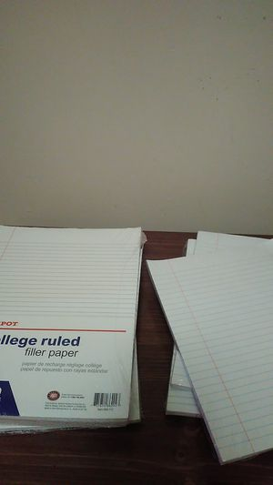 College rule School paper for Sale in Nashville, TN