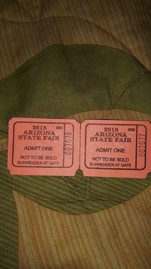 AZ State Fair Admission Tickets for Sale in Phoenix, AZ