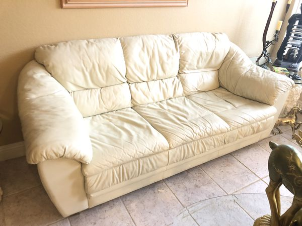 Italian Made Leather Like Sofa Couch for Sale in Sun City West, AZ - OfferUp