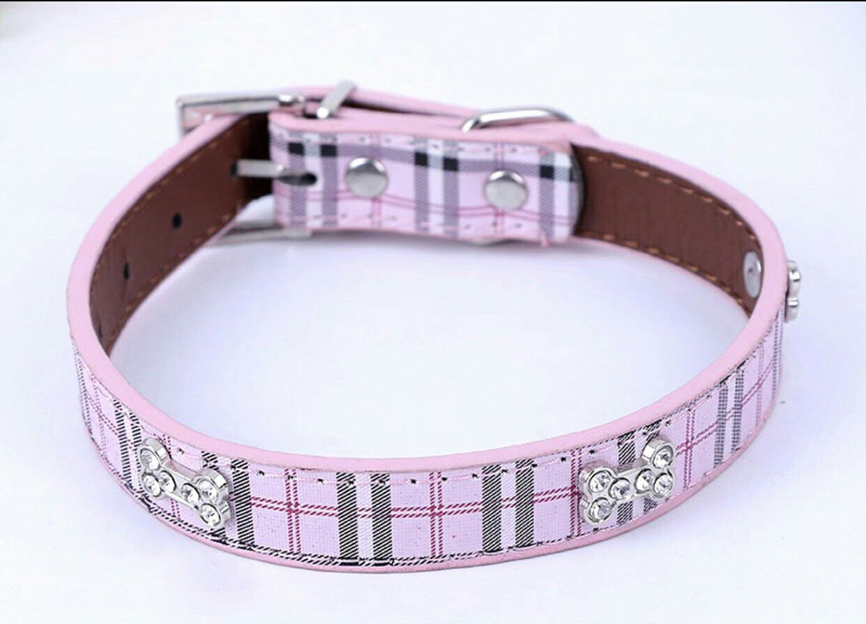 Burberry Print Dog Collars