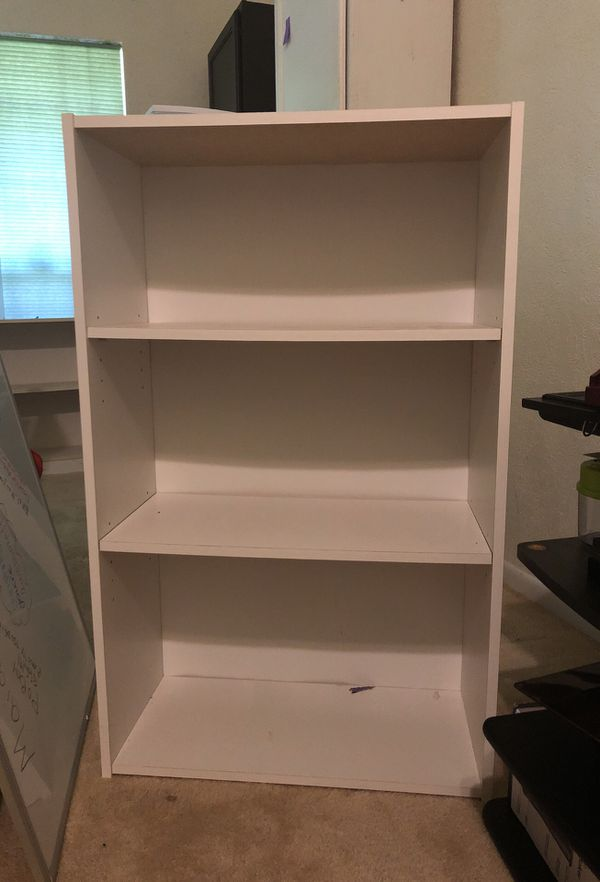 White Bookshelf For Sale In Plano TX