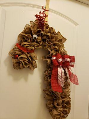 Rudolf wreath for Sale in Orlando, FL