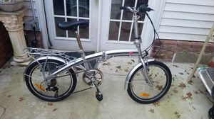 BC FOLDING BIKE. 8 SPEED for Sale in Silver Spring, MD