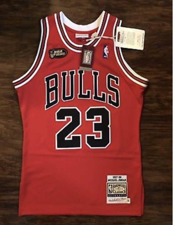 new style a4d36 67acd Michael Jordan finals jersey 97-98 for Sale in Jersey City, NJ - OfferUp