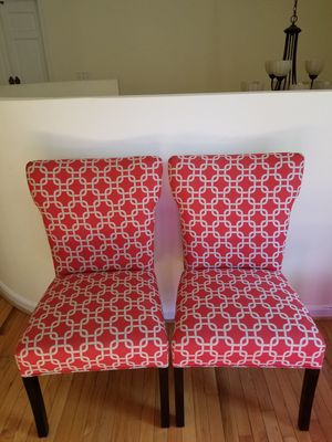 Accent chairs pair for Sale in Potomac, MD