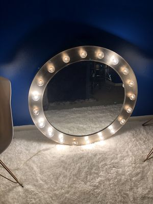 A Nice Heavy Light Mirror for Sale in Rockville, MD