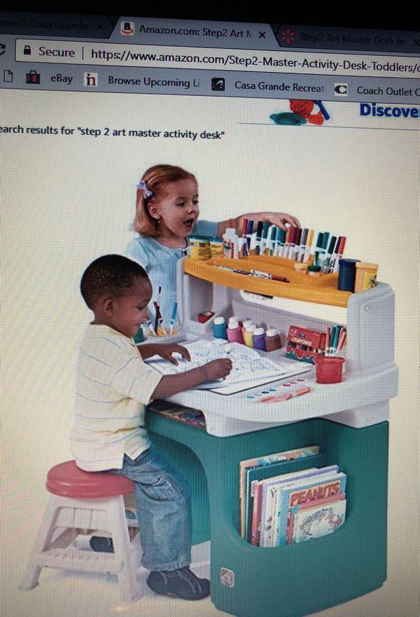 Step 2 Art Master Activity Desk For Sale In Casa Grande Az Offerup