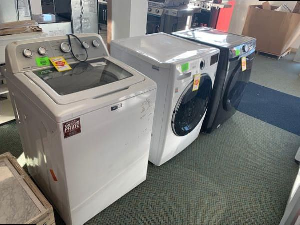 WASHERS LIQUIDATION SALE!!! SAMSUNG MAYTAG AND MORE L1