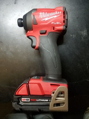 """Milwaukee gen 3 m18 fuel 1/4"""" impact driver for Sale in Longmont, CO"""