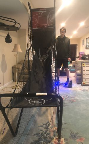 basketball hoop with 2 balls for Sale in Sterling, VA