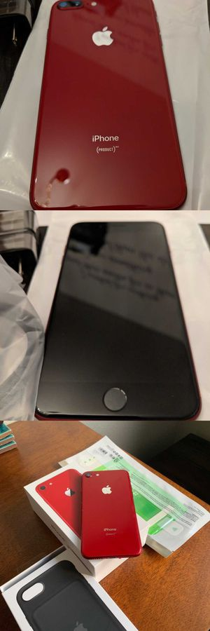 Neverlocked iPhone 8 Plus (Product) Red, 256GB for Sale in Baltimore, MD