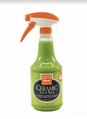 Photo Griot's Garage Ceramic 3 in 1 Wax 22 oz. Auto Detailing Protection Spray 10978 brand new