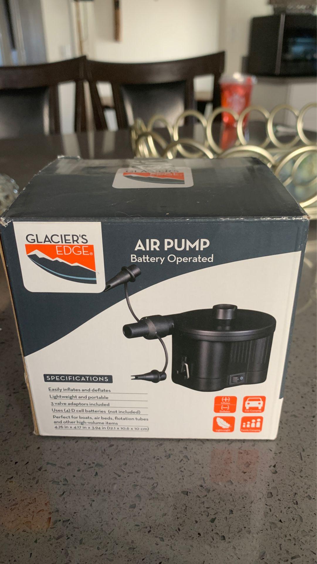 Air Pump Batter operated