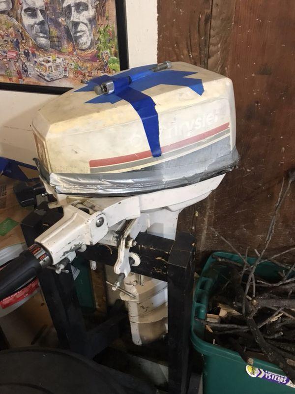 6hp chrysler outboard motor