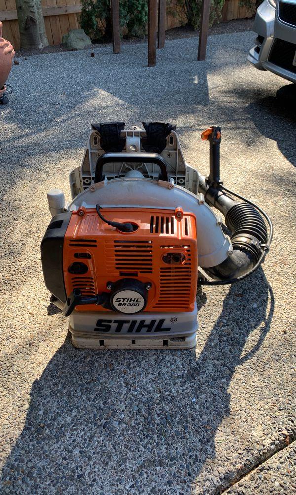 Stihl BR380 Blower for Sale in Kirkland, WA - OfferUp
