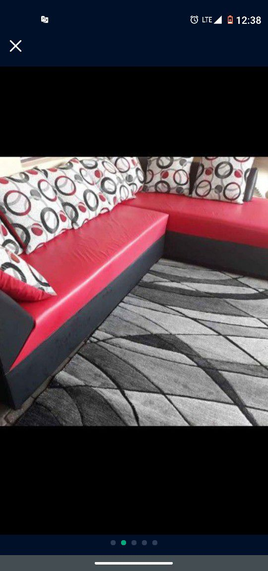 SOFA MODERN In L SHAPPE.. DELIVERY SERVICE AVAILABLE