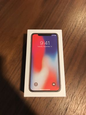 Brand new iPhone X 256gb for Sale in Bowie, MD