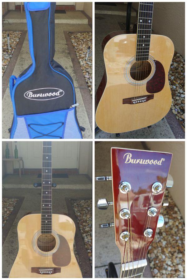 Burswood JW-41F Full Size Acoustic Guitar for Sale in Deerfield Beach, FL -  OfferUp