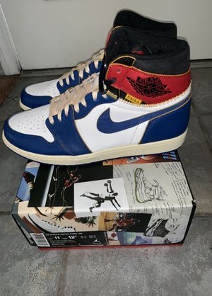 Union LA x Jordan 1 (Blue Toe - Size 11) for Sale in Santa Monica, CA