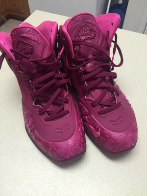 Nike Hyperposite red raspberry size 14 for Sale in Richmond, VA