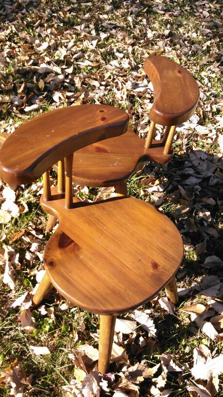 Chairs William Fetner Backward Valet Chairs For Sale In