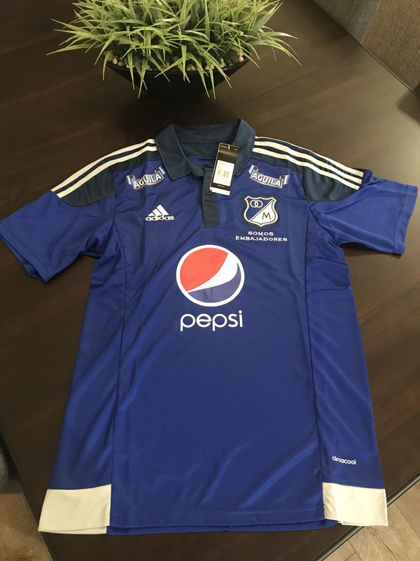 68f67d27141 Millonarios FC - Training Jersey with Sponsors for Sale in Homestead ...