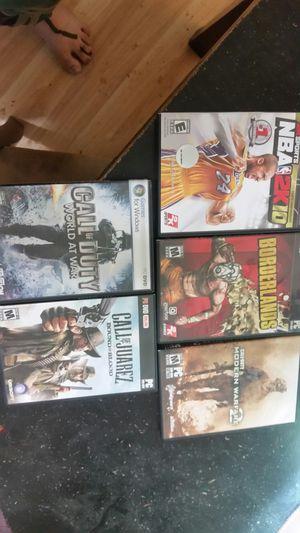 5 PC games for Sale in Salt Lake City, UT