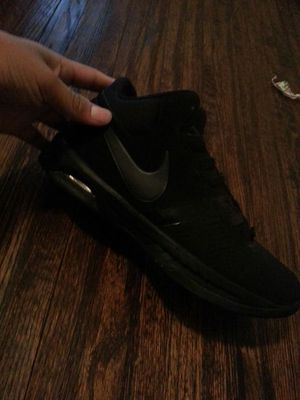 38ea9e91af9a5 Nike shoes all black for Sale in Tulsa