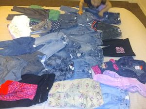 Photo 29 items toddler girls clothing lot. Size 18 months - 4 toddler
