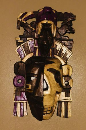 Mayan Mask - AMAZING CRAFTSMANSHIP AND DETAIL for Sale in VA, US