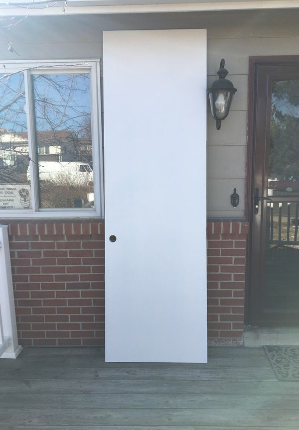 Interior Doors White Primed 96 Inches X29 3 4 Inches And 1