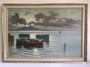 Original Oil Painting A Palini