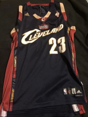 e466fd4e3967 Vintage LeBron James jersey for Sale in Liverpool