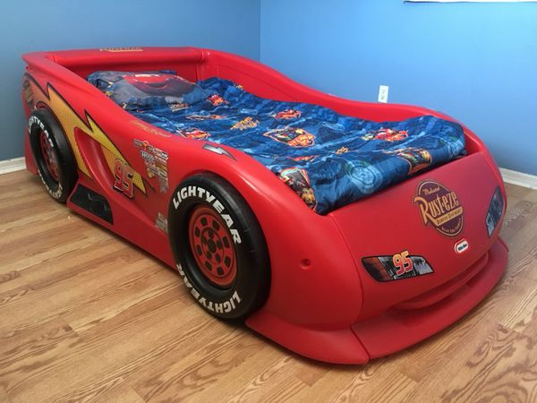 Lightning Mcqueen Little Tikes Bed.Little Tikes Rust Eze Lightning Mcqueen Twin Bed For Sale In