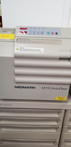 Midmark m11D autoclave , REFURBISHED for Sale in Portland, OR