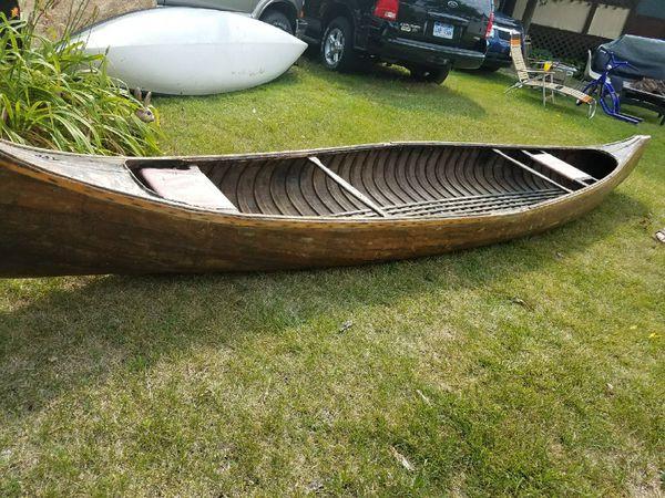 1937 wooden canoe for Sale in Kalamazoo, MI - OfferUp