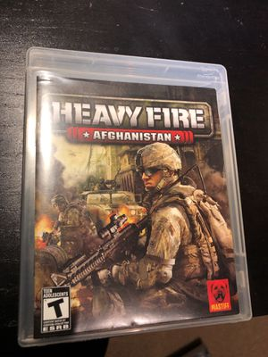 PS3 Heavy Fire Afghanistan for Sale in Germantown, MD