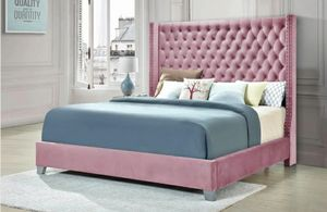 Photo Furniture queen bed fabric Finance available1456 North Beltline Road Garland Texas 75044