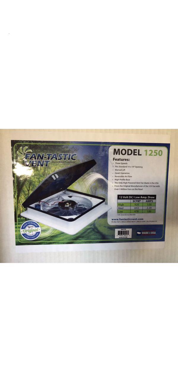 Dometic 801250 Fantastic Fan Model 1250 Power Vent Fan with Reverse for  Sale in Riverside, CA - OfferUp